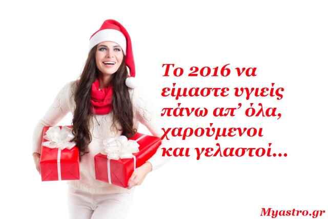 Προβλέψεις αριθμολογίας για το 2016.