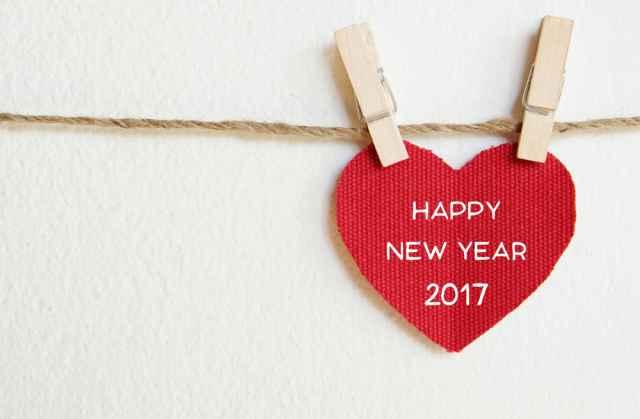 Ευχές για το νέο έτος και την πρωτοχρονιά 2017.