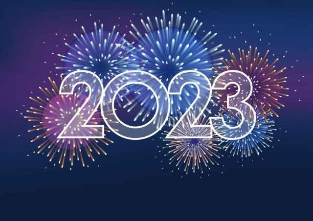 Ευχές για το νέο έτος και την Πρωτοχρονιά 2020.