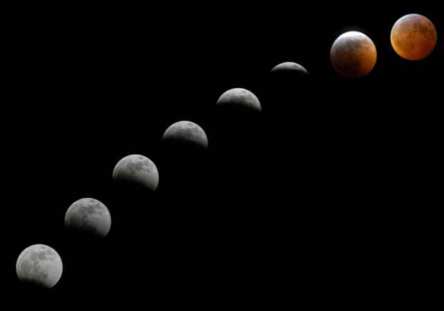 Mερική Σεληνιακή Έκλειψη και Πανσέληνος στον Αιγόκερω στις 17 Ιουλίου 2019. Προβλέψεις για τα ζώδια.